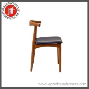 tanduk chair teak wood 2