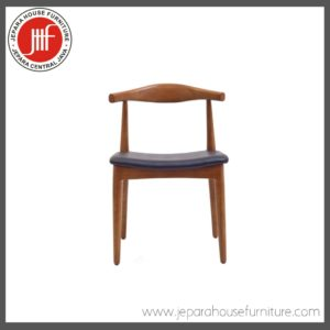 tanduk chair teak wood