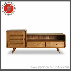 teak wood TV Cabinet scandinavian retro