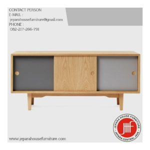 jual buffet tv scandinavian minimalis