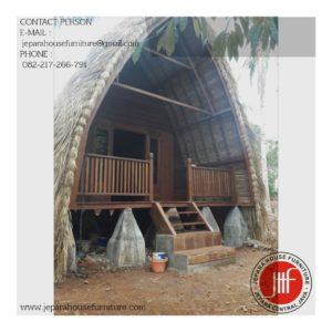 rumah kayu harga murah