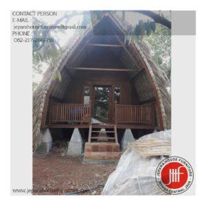 rumah kayu sasak murah