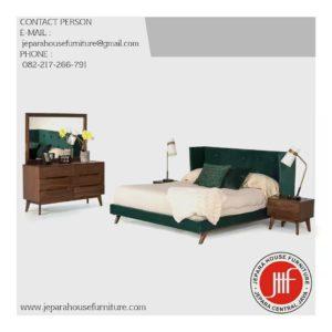 set tempat tidur scandinavian