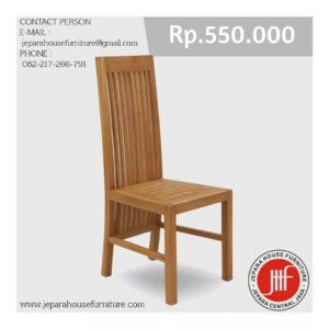 balero teak wood chair