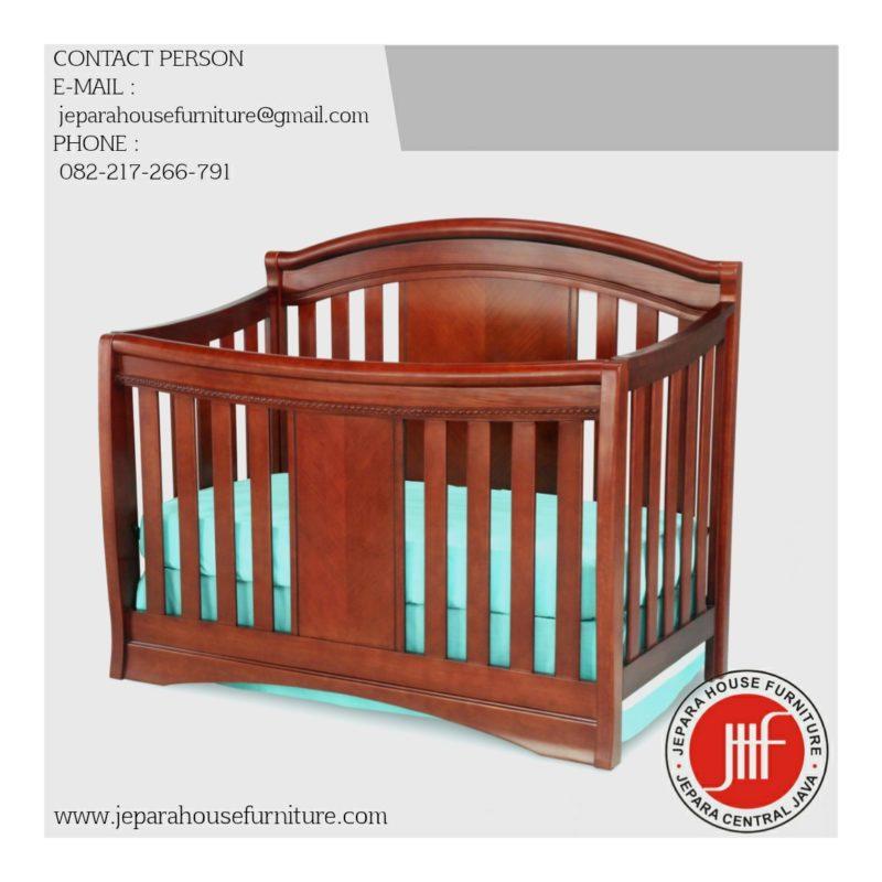 box bayi kayu natural