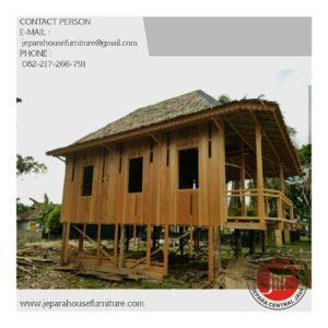 kontraktor rumah kayu murah