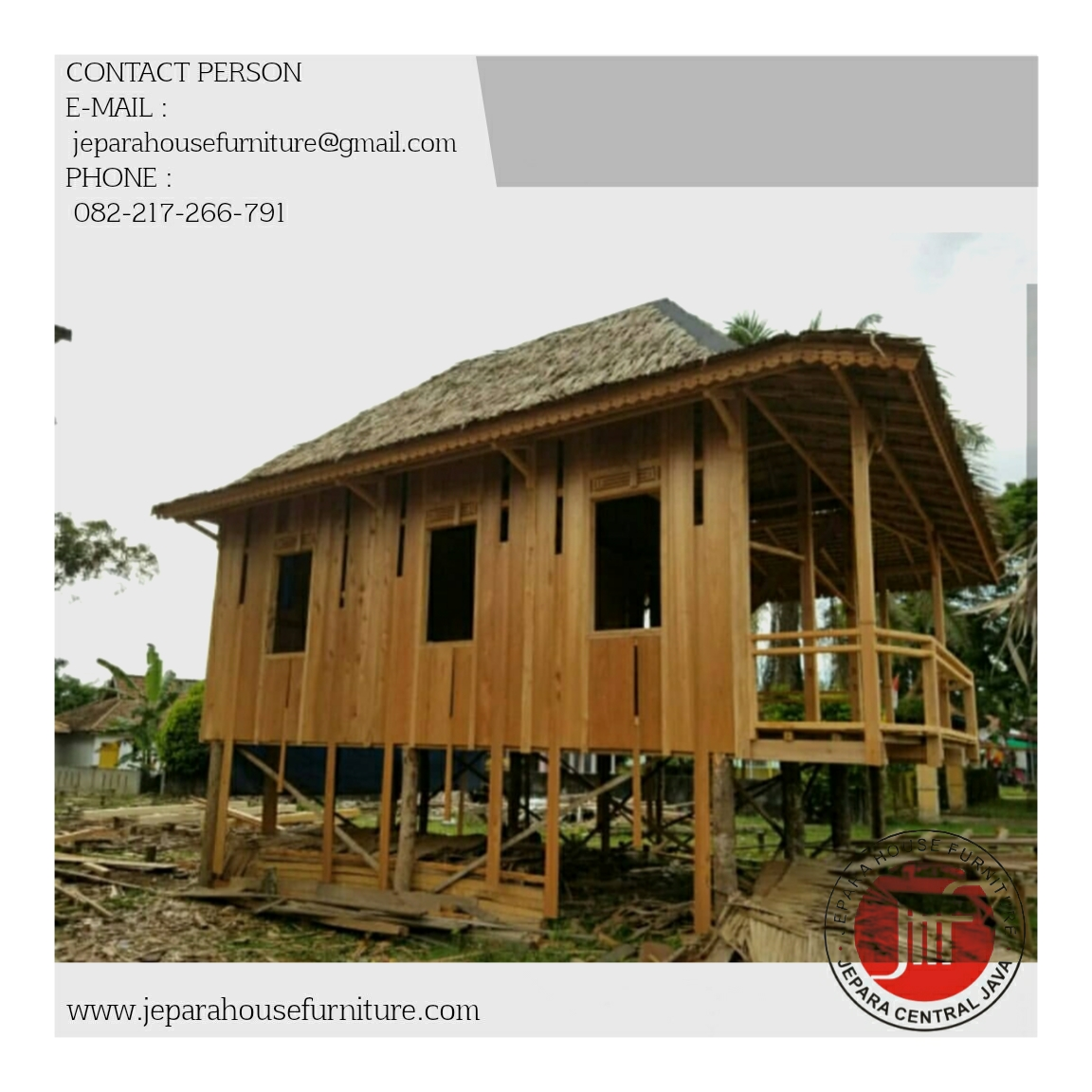 Kontraktor Rumah Kayu Murah Produsen Pembuat Rumah Kayu Jepara House Furniture