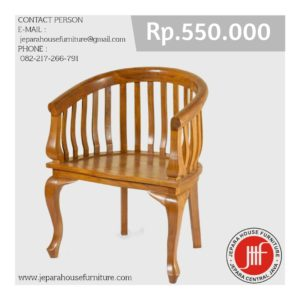 kursi jati batavia chair