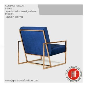 modern arm chair stailess