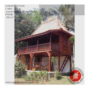 model rumah kayu murah