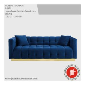 sofa modern stainless terbaru