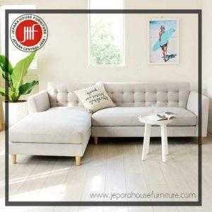 sofa retro scandinavian L