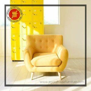 sofa retro scandinavian single