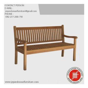 Garden teak outdoor bench