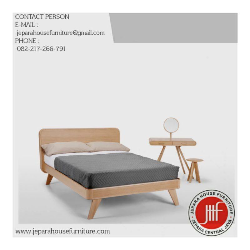 Jual tempat tidur murah kayu jati