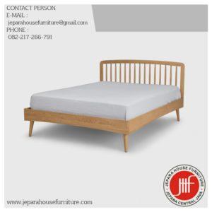 tempat tidur terbaru retro
