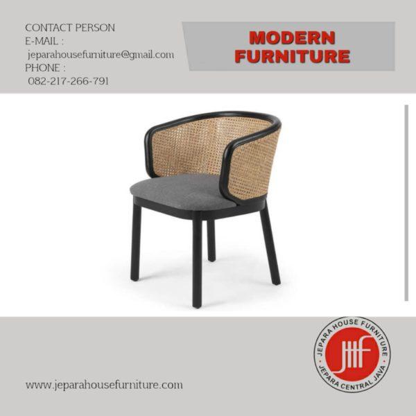 kursi makan cafe modern