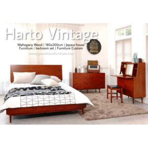 Set Tempat Tidur Vintage Terbaru