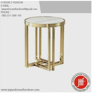 Meja Tamu Marmer Terbaru Modern Furniture