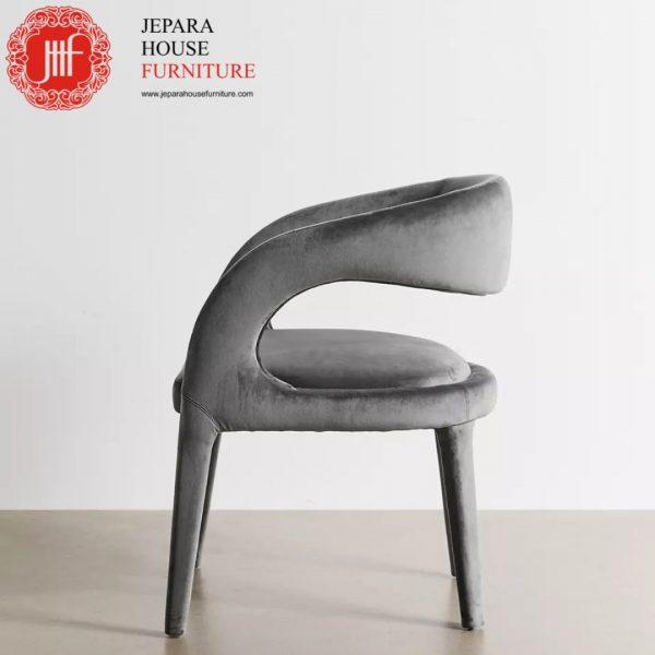 Kursi makan modern terbaru grey