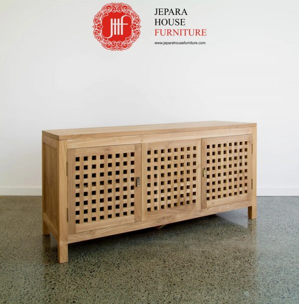 Meja Tempat tv minimalis kayu jati
