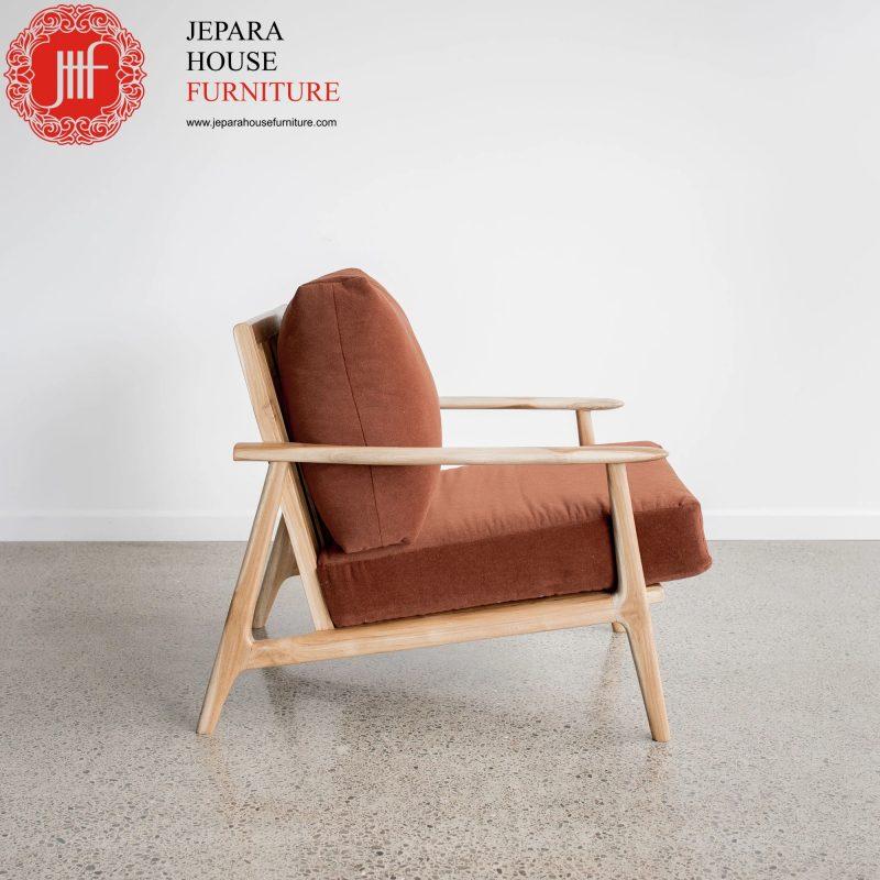 kursi santai kayu terbaru